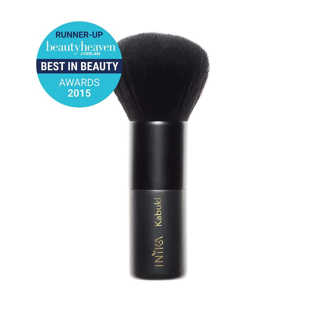 INIKA Vegan Kabuki Brush, 100% Vegan, Makeup Brush, Soft Bristles, Cruelty Free