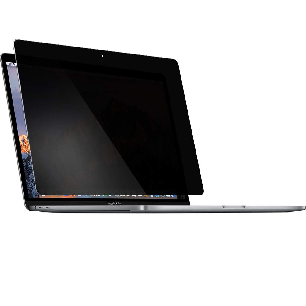 Privacy Tempered Glass Screen Protector for 13 inch MacBook Pro with/Without touchbar and Touch ID, Anti Blue Light and Anti Scratch, 9H Hardness