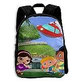 Little-Einsteins-Wallpaper-4 Functional Design For Kids School Backpack Children Bookbag Perfect For Transporting For Traveling In 4 Season