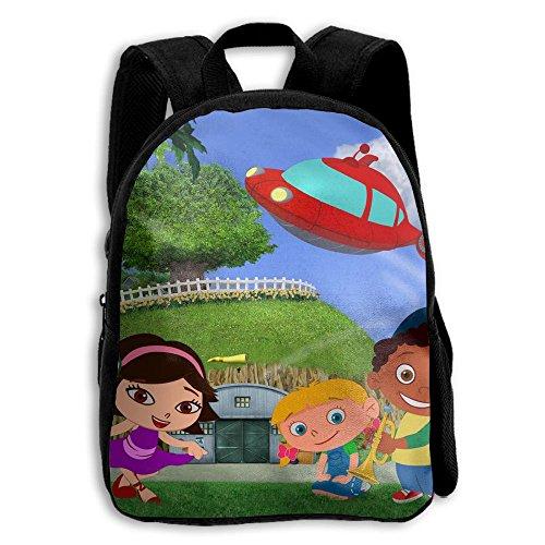 Little-Einsteins-Wallpaper-4 Functional Design For Kids School Backpack Children Bookbag Perfect For Transporting For Traveling In 4 Season by PENTA ANGEL