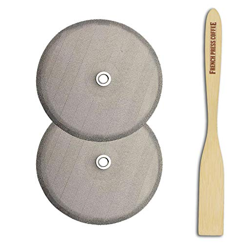 - French Press Replacement Filter Screen Kit, Fits Bodum French Press, 4
