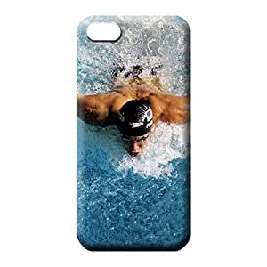 iphone 5 5s phone carrying skins Covers case High Quality phone case michael phelps