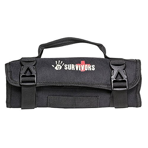 By-12 Survivors First Aid Kit, Mini Rollup Safety Women Men Kids First Aid Kit Camping by By-12 Survivors
