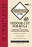Diamond Naturals Dry Food for Adult Cats, Indoor Hairball Control Chicken Formula, 18 Pound Bag