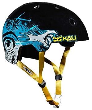Kali Protectives Maha BMX Helmet-maha Monster, Color Negro, tamaño Mediano, Casco