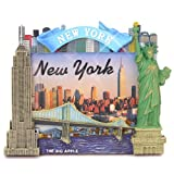 new york frame - New York City Picture Frame for 4x6 Photos from NYC Photo Frames Collection (6.75