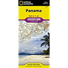 Panama Adventure Map