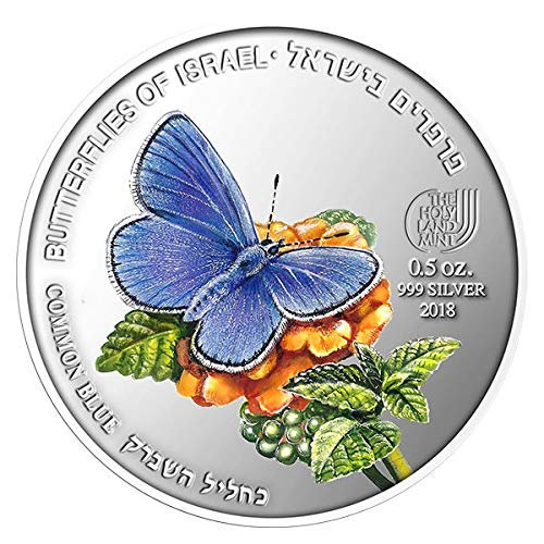 Common Blue 0.5OZ 999 SILVER Second in the