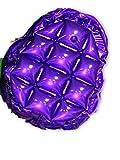 PVC Inflatable Mini Back Pack Mini Bubble Bag 90s Style Fashion Vintage 43 (Purple)
