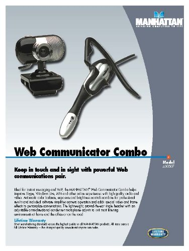 Manhattan Web Communicator Combo - Black/Silver (460507) by Manhattan Products (Image #1)