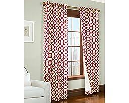 Thermalogic 70920-188-8063-802 Trellis Printed Cotton Grommet Panels