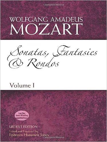 Sonatas, Fantasies and Rondos Urtext Edition: Volume I (Dover