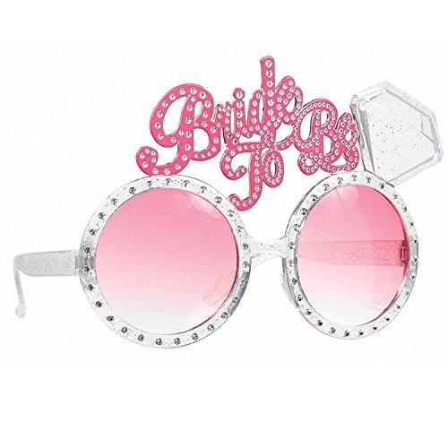 Sundarling Bride To Be Bachelorette Diamond Ring Fun Glasses 1 (Bachelorette Diamond Ring Fun Glasses)