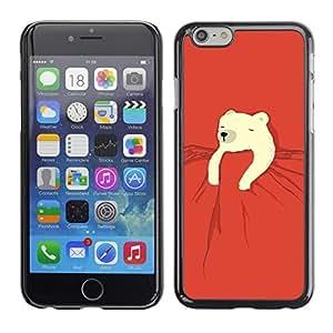 Ziland / Slim Design Case Cover Shel / Kids Sweet Cute Red Night / Apple iPhone 5c