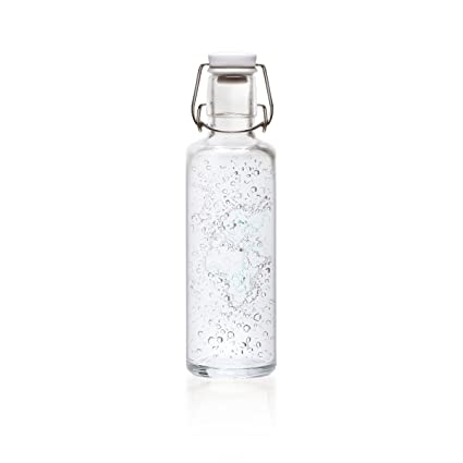 Botella de cristal Soulbottle, varios diseños, fabricada en Alemania ...