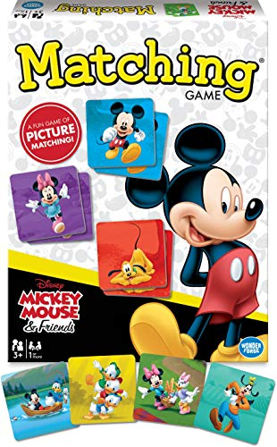 Mickey Mouse Matching Game for Boys & Girls Age 3 to 5 - A Fun & Fast