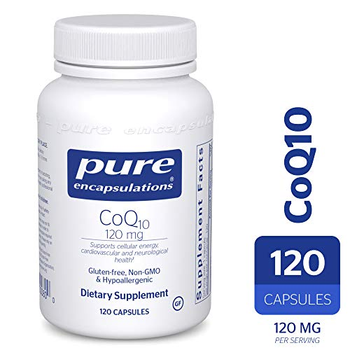 Pure Encapsulations – CoQ10 120 mg – Hypoallergenic Coenzyme Q10 Supplement – 120 Capsules