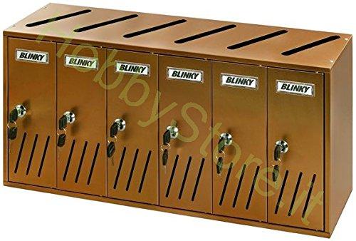 62/x 17.5/x 30 /06/ Blinky 27358/ K6/6-box /p/énale postale aluminium Auburn
