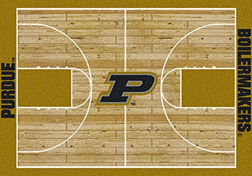 Milliken College Basketball Court Purdue 5'4