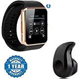 captcha GT08 Smart Watch with Sim Card Slot for Smartphones (Multicolour)