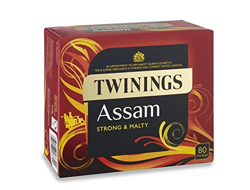 Assam Strong & Malty Twinings Black Tea 80 Tea Bags (Twinings Assam Tea)