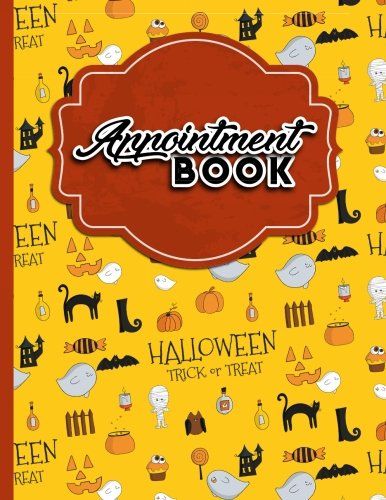 Download Appointment Book: 2 Columns Appointment Pad, Cute Appointment Books, Undated Appointment Book, Cute Halloween Cover (Volume 18) pdf epub