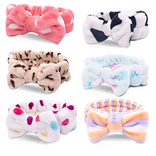 Cat Face Party Adult Mask - Bow Hair Band, Soft Carol Fleece