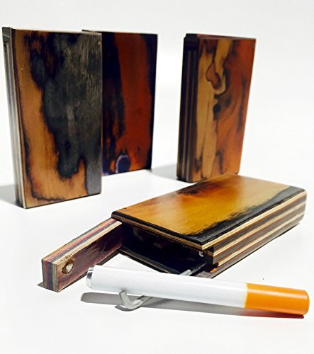 Handmade Wooden Cigarette Case  Box – (Complete Kit) (4) by Unknown