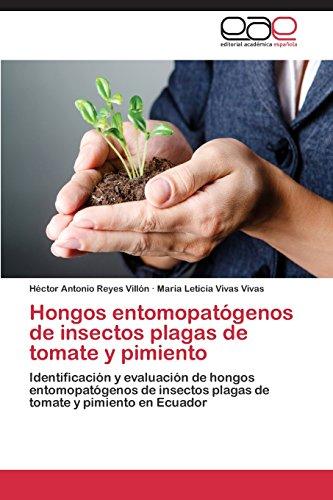 Descargar Libro Hongos Entomopatógenos De Insectos Plagas De Tomate Y Pimiento Reyes Villón Héctor Antonio