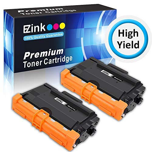 - E-Z Ink (TM) Compatible Toner Cartridge Replacement for Brother TN850 TN 850 TN-850 TN820 TN 820 TN-820 (2 Black, High Yield)