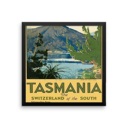vintage-poster-tasmania-enhanced-matte-paper-framed-poster-16x16