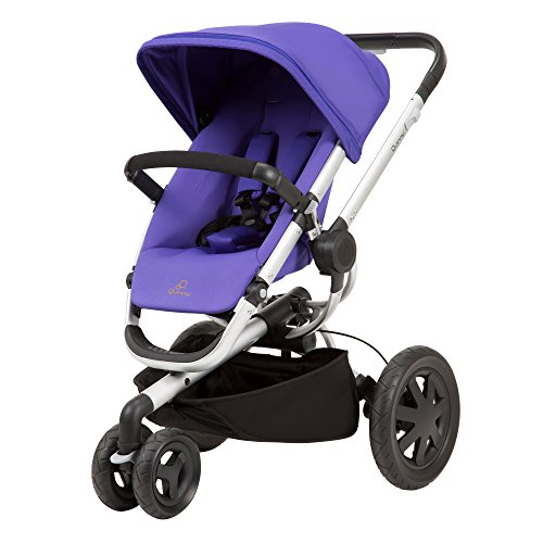 (Quinny Buzz Xtra Stroller, Purple Pace)
