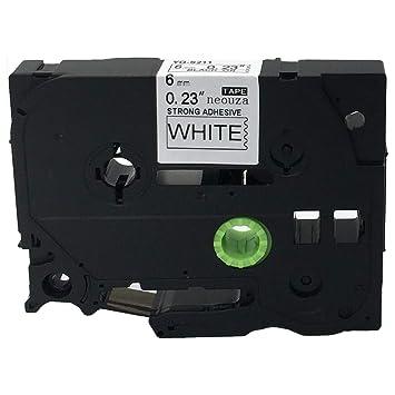 1pcs Tze-Fx111 Fx611 P-Touch Label Kompatibel für Brother 6mm