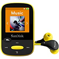 SanDisk SDMX24-008G-A46Y Clip Sport 8GB, Yellow (SDMX24-008G-A46Y)