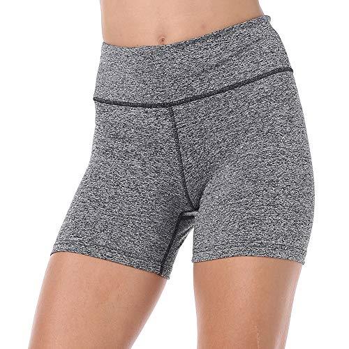 ZEALOTPOWER Yoga Shorts for Women High Waist Plus Size Spandex Tummy Control Running Biker Workout Sports Athletic Exercise