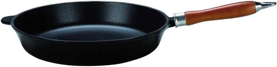 Negro Kr/üger 60024 Pfanne Hierro Fundido di/ámetro 24 cm