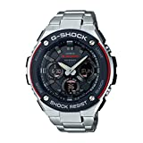 (US) Casio G-Shock G-Steel Smoke Dial SS Chronograph Quartz Men's Watch GSTS100D-1A4
