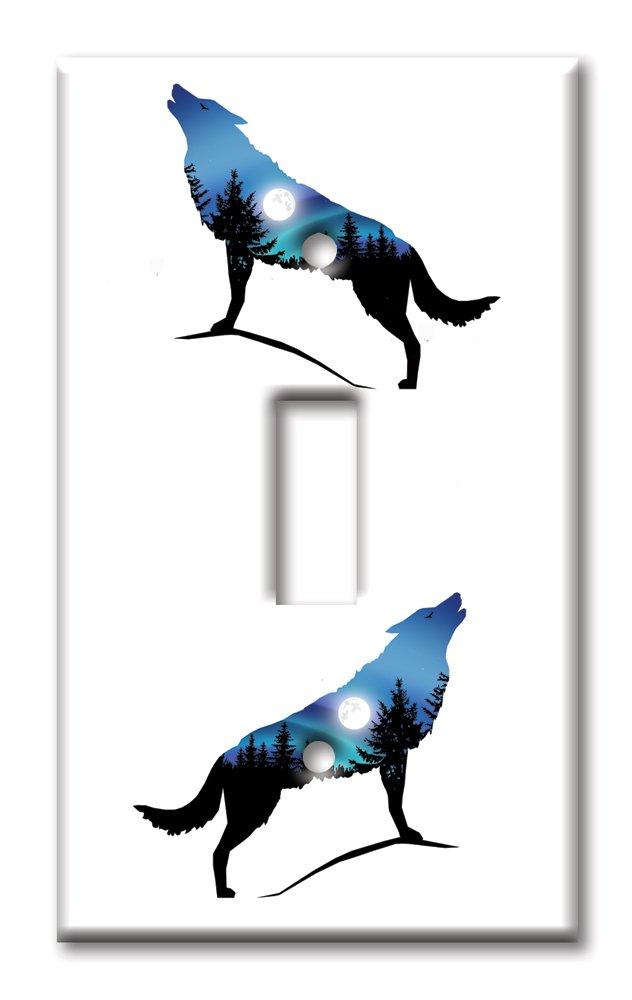 2019年激安 アートプレートブランドOversizeスイッチ/Overサイズ壁プレート 8722-S-oversize – Wolf – Silhoutte マルチカラー Wolf 8722-S-oversize B072F6TSC1, カラーハーモニーLife:97e8b35a --- a0267596.xsph.ru