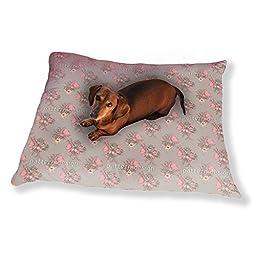 Gorgeous Flower Bouquet Dog Pillow Luxury Dog / Cat Pet Bed