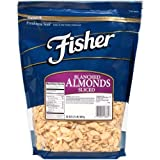 Fisher Chefs Naturals Blanched Sliced Almond Nut, 2 Pound -- 3 per case.