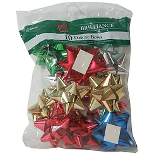 JAM Paper Holiday Gift Bows - Assorted Bag - (Bows And Bags)