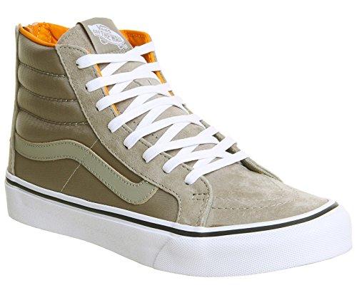 Sneaker Orange Vans Hi Beige Damen Sk8 Schwarz SYOOrtqx