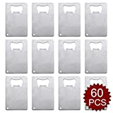 Aspire Credit Card Bottle Opener for Your Wallet Bulk Stainless Steel Bottle Opener Wholesale Lot-Silver-60 PCS Review