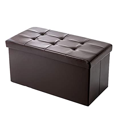 Tremendous Amazon Com Lff Folding Portable Ottoman Storage Box Bench Ncnpc Chair Design For Home Ncnpcorg