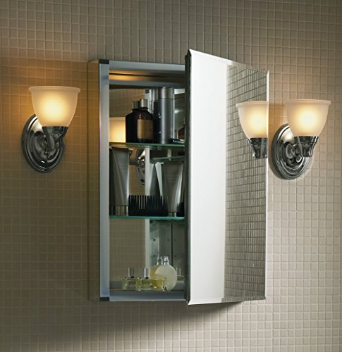 KOHLER K-CB-CLC2026FS 20-by-26-by-5-Inch Single Door Aluminum Cabinet