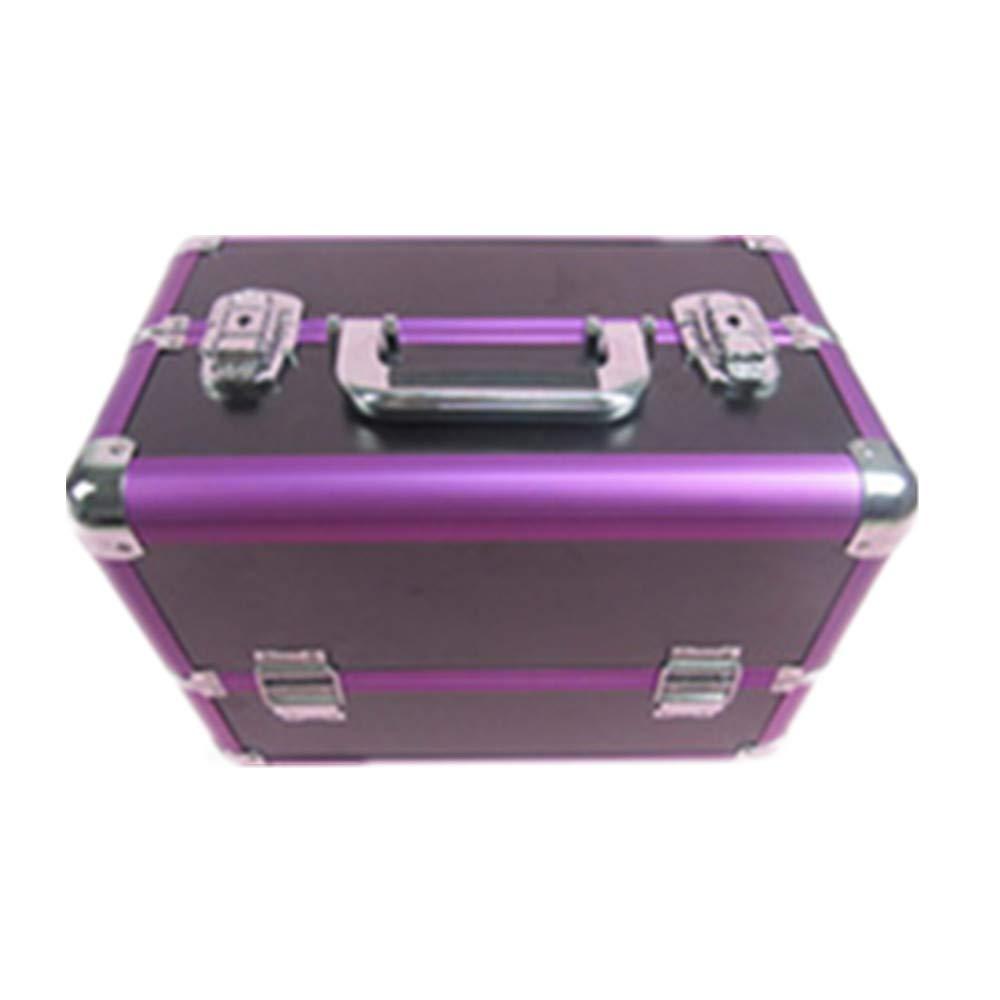 化粧オーガナイザーバッグ 大容量ポータブル化粧ケース(トラベルアクセサリー用)シャンプーボディウォッシュパーソナルアイテム収納トレイ(エクステンショントレイ付) 化粧品ケース B07RSFNM22