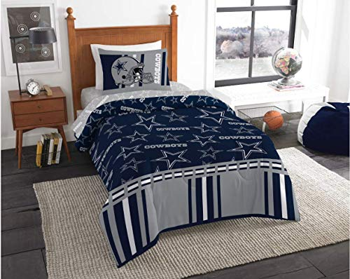 Dallas Cowboys NFL Twin Comforter & Sheets, 4 Piece NFL Bedding, New! + Homemade Wax Melts
