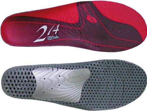 SQlab Schuhzubehör 214 Einlegesohle rot (Größe: 44-46)