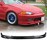 94 honda civic lip - 92-95 Honda Civic 2/3 Door Mug Style Add-On Front Bumper Lip Spoiler Urethane