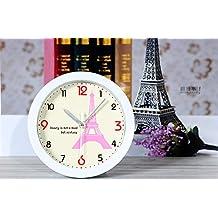 Eiffel Tower in Paris France Style Small Alarm Clocks